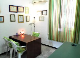 Sala de consultas y terapias