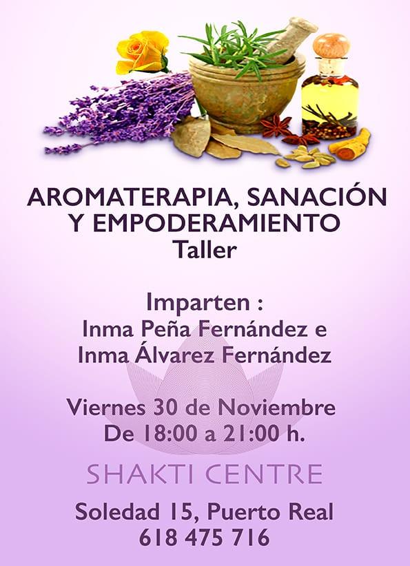 """Taller Aromaterapia """"Sanación y empoderamiento"""""""